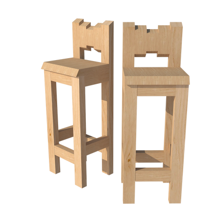 Bar stool + Free plan