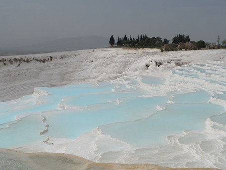 Los Travertinos de Pamukkale
