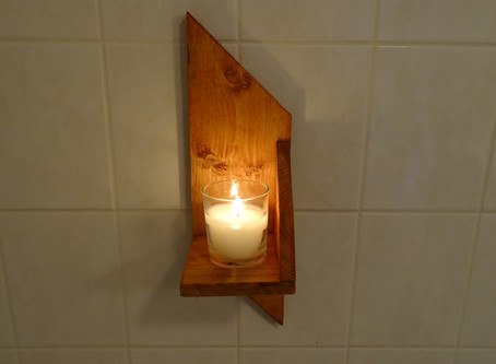 Estantes sencillos de madera de palet ...
