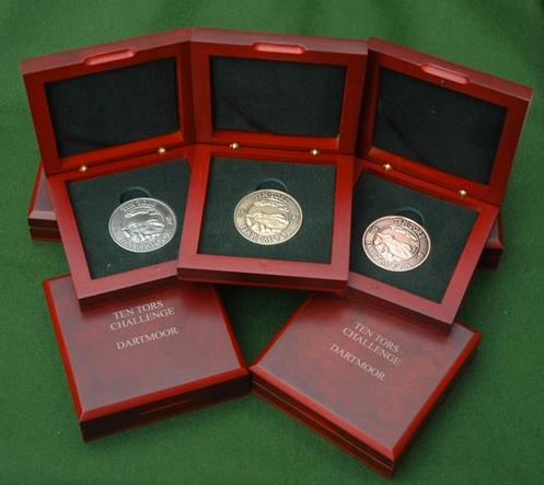 Ten Tors Challenge Medals