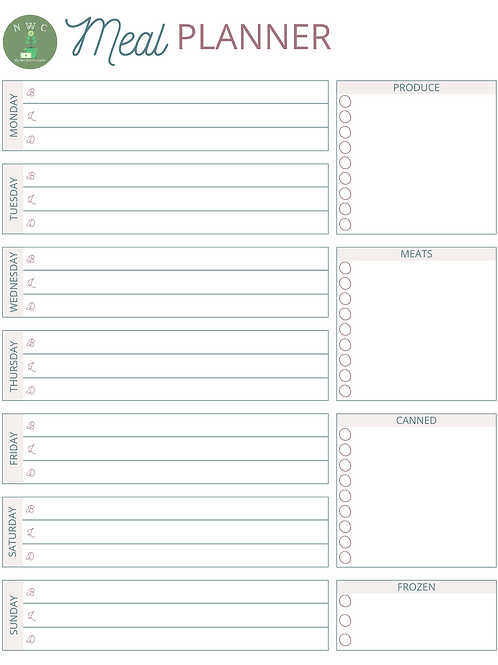 Meal Planner - MP0023