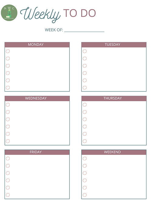 Weekly To Do - WTD008