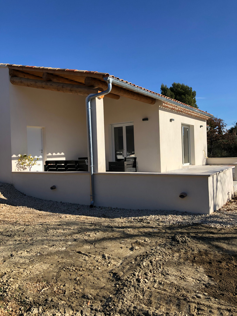 CONSTRUCTION VILLA CUCURON 84
