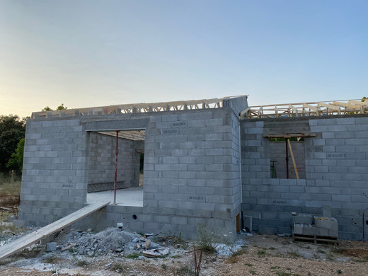 CONSTRUCTION VILLA CUCURON 84