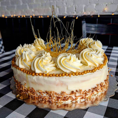 Coconut Citrus Sponge Cake