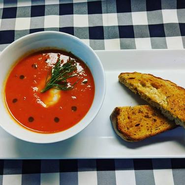 Shrimp and Tomato Soup