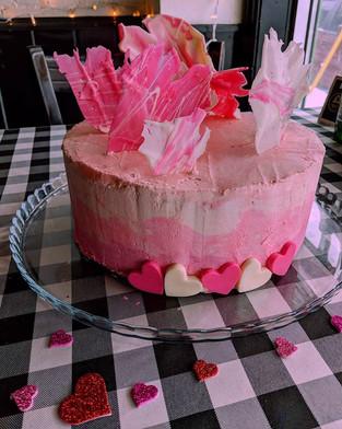 Red Velvet Cake with Italian Buttercream