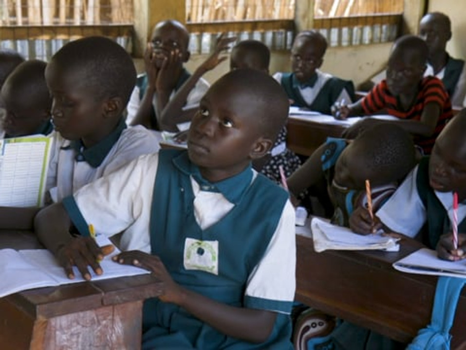 Promo video for a school in Juba, South Sudan: Good Shepard Academy