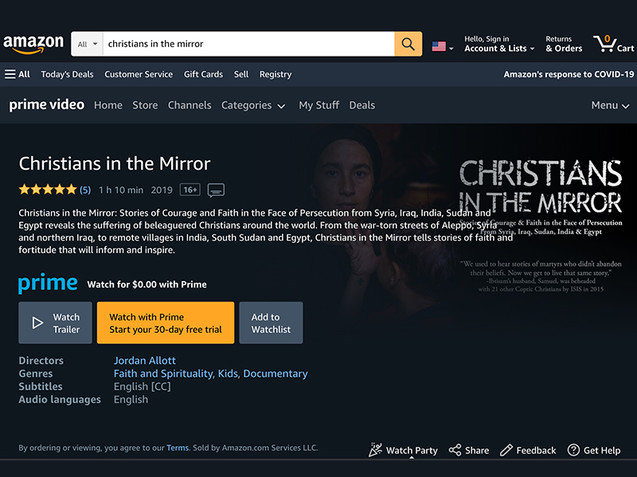 Christians in the Mirror available on Amazon.