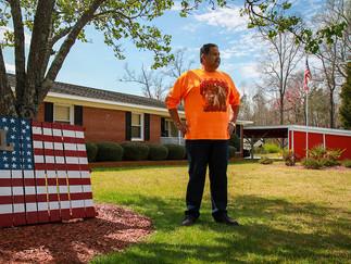 Behind the Scenes Photo: Mark Locklier of Robeson County, North Carolina