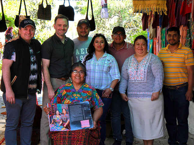 IAP filming in Guatemala