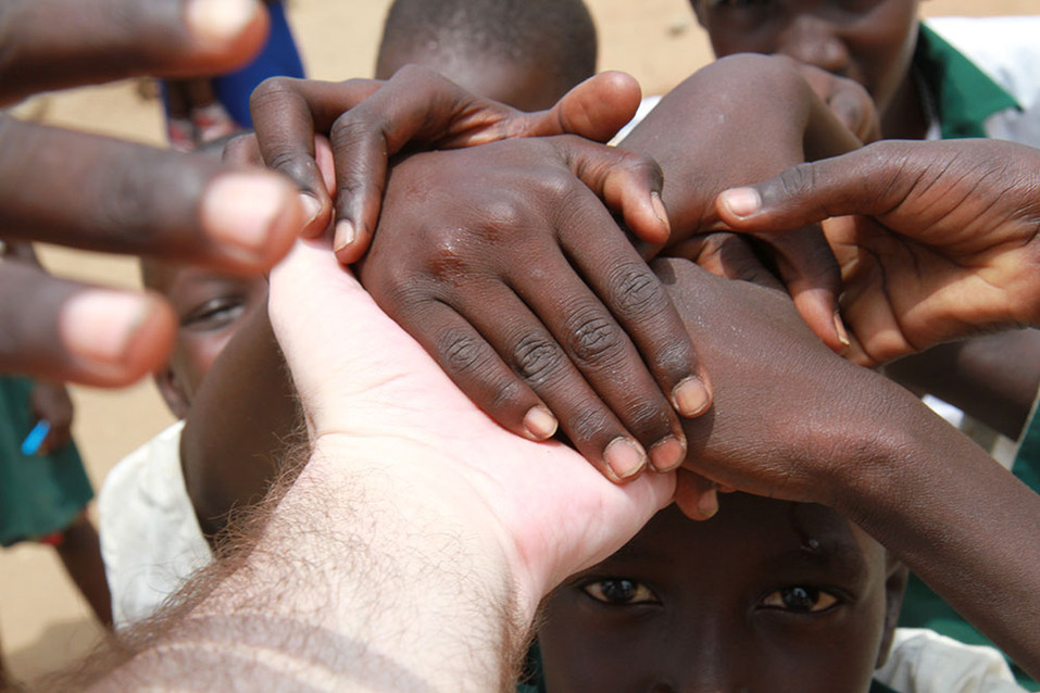 Children at the Good Shepherd Academy, Juba, South Sudan.   2018 Juba, South Sudan