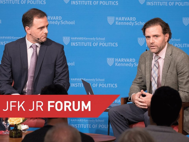 IAP presents at the JFK Forum at Harvard's Institute of Politics