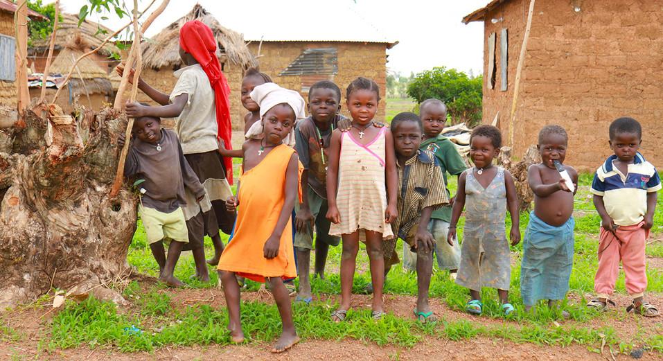 Children in rural Nigeria.  2014 Outside Jos, Nigeria