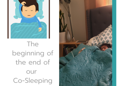 The End of Our Co-Sleeping