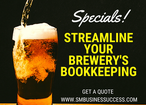 Craft Brewery Bookkeeping