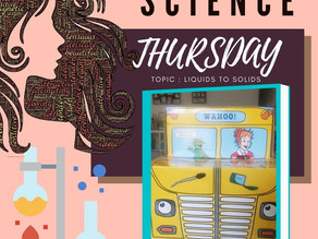 Homeschool Science with Magic School Bus #15 Is it a Solid or a LIquid?