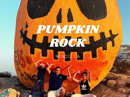 PUMPKIN ROCK HALLOWEEN HIKE