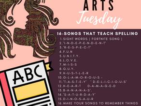 16-Songs That Teach Spelling