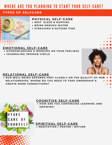 Self Care Plan