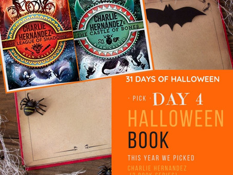 HALLOWEEN BIPOC KID BOOKCLUB Charlie Hernández & the League of Shadows & the Castle of Bones.