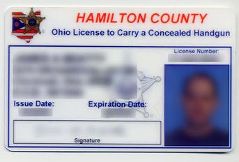 Ohio CCW License