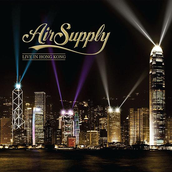 空中補給樂團:香港之夜 Air Supply: Live In Hong Kong (2Vinyl LP+2CD+藍光Blu-ray) 【Evosound】
