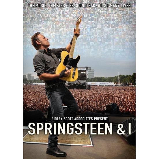 布魯斯.史普林斯汀:史普林斯汀與我 Bruce Springsteen: Springsteen & I (DVD) 【Evosound】