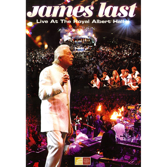 詹姆斯.拉斯特:皇家亞伯特廳現場 James Last: Live at the Royal Albert Hall (DVD) 【Evosound】