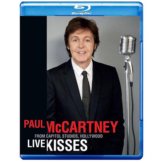 保羅麥卡尼:深情之吻演唱會 Paul McCartney: Live Kisses (藍光Blu-ray) 【Evosound】