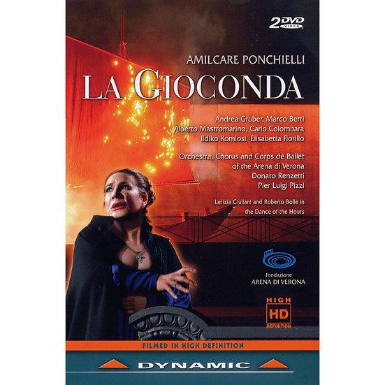 龐奇耶利:歌劇《歌女喬康達》 Amilcare Ponchielli: La Gioconda (2DVD)【Dynamic】