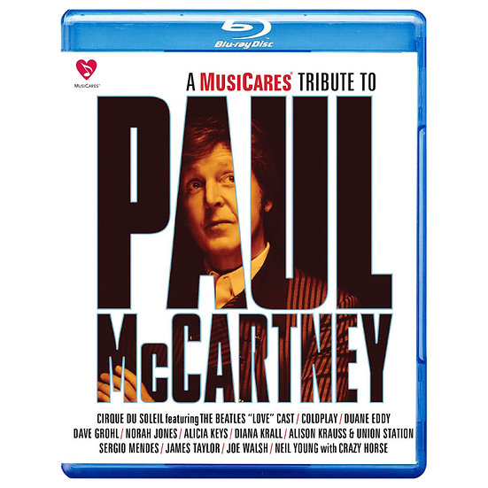 披頭四之愛-向保羅麥卡尼致敬 A MusiCares Tribute To Paul McCartney (藍光Blu-ray) 【Evosound】