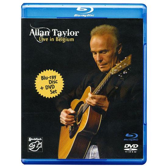 亞倫.泰勒:比利時現場 Allan Taylor: Live in Belgium (DVD+藍光Blu-ray) 【Stockfisch】