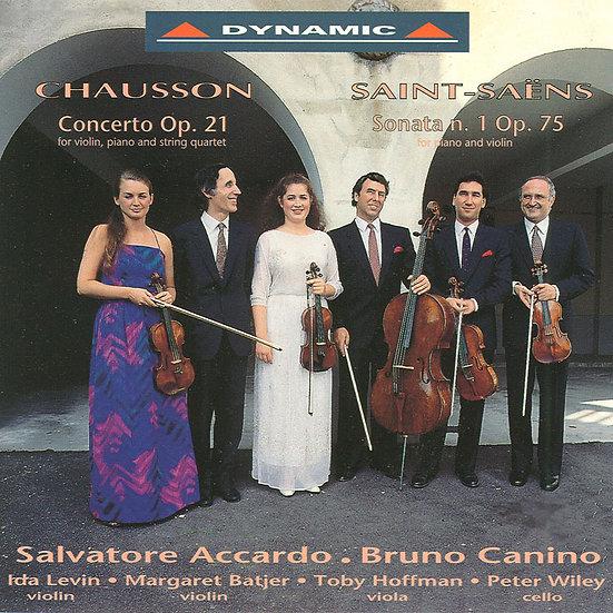 蕭頌與聖桑:小提琴精品 (CD)【Dynamic】