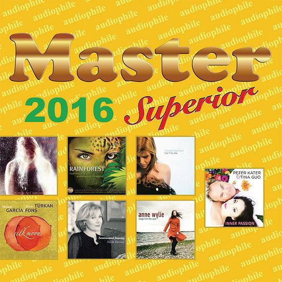 Master發燒碟2016 Master Superior Audiophile 2016 (CD) 【Master】