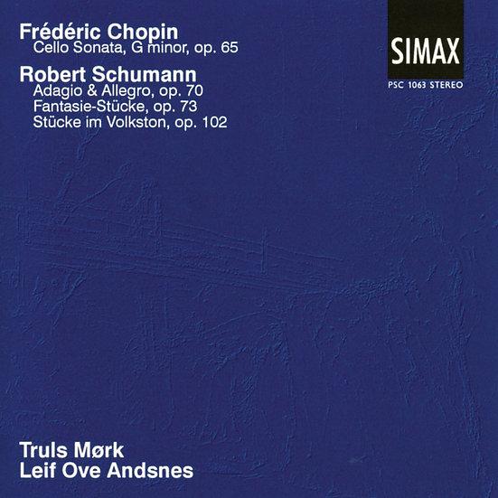 舒曼與蕭邦:大提琴作品集|大提琴:莫克 (CD) 【Simax Classics】