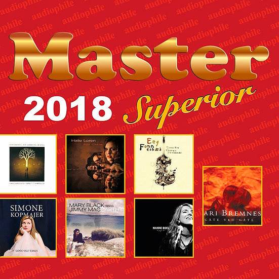 Master發燒碟2018 Master Superior Audiophile 2018 (CD) 【Master】