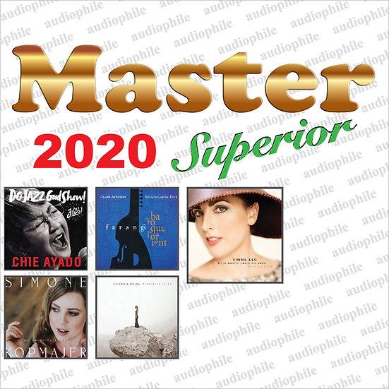 Master發燒碟2020 Master Superior Audiophile 2020 (CD) 【Master】
