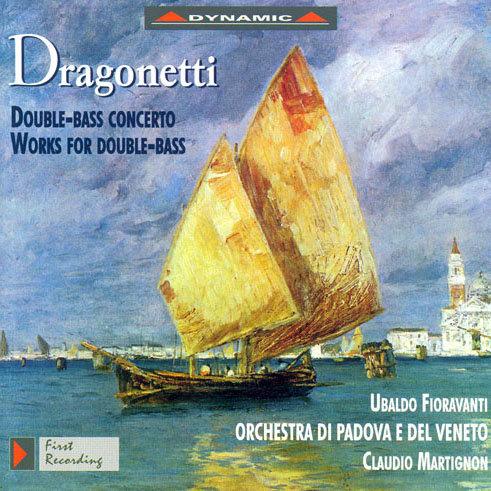 牛筋巨龍 – 垂岡內提作品集 Dragonetti: Works For Double Bass (CD)【Dynamic】