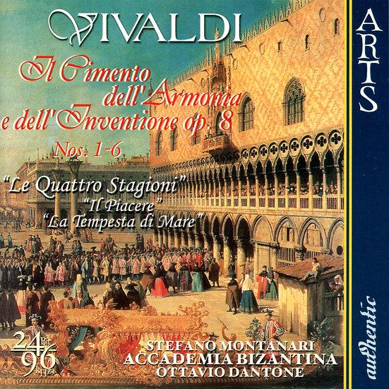 韋瓦第:四季小提琴協奏曲 Vivaldi: The Four Seasons (DAD+CD)