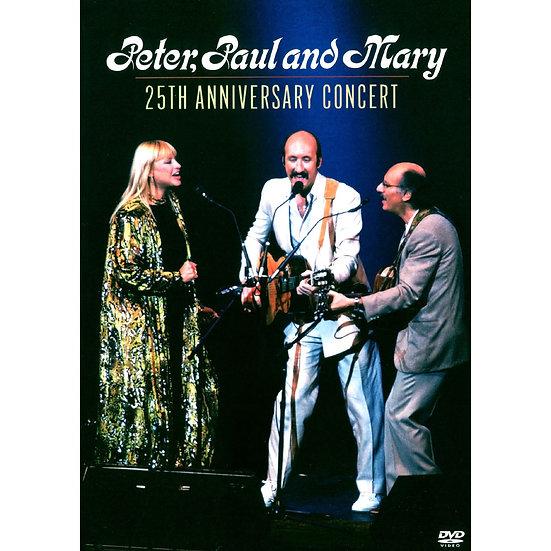 「彼得、保羅與瑪莉」三重唱:25周年紀念演唱會 (DVD) 【Evosound】