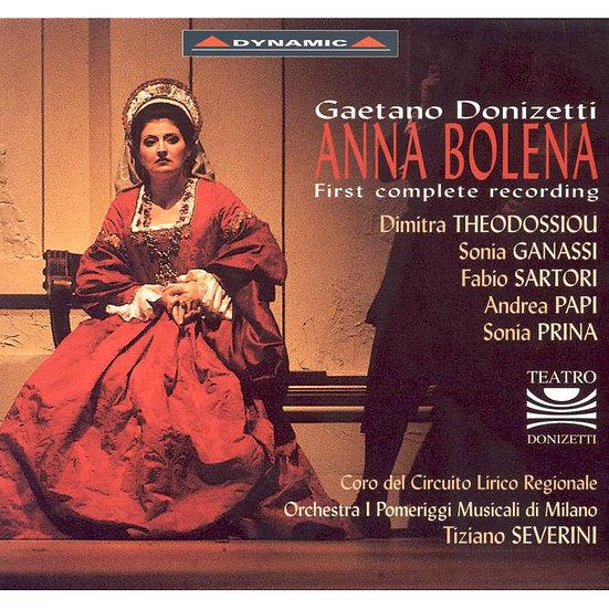 董尼才第:歌劇《安娜.波莉娜》 Gaetano Donizetti: Anna Bolena (3CD)【Dynamic】
