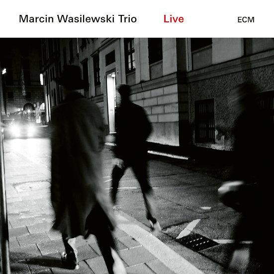 馬爾辛.瓦西拉斯基三重奏:現場 Marcin Wasilewski Trio: Live (2Vinyl LP) 【ECM】