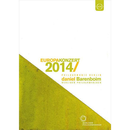 2014歐洲音樂會 莎士比亞紀念年 Europakonzert 2014 from Berlin (DVD) 【EuroArts】