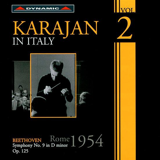 卡拉揚在義大利 第二集 Karajan in Italy Volume 2 (CD)【Dynamic】