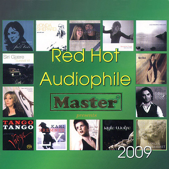 綠色發燒碟 Red Hot Audiophile 2009 (CD) 【Master】  綠色發燒碟 Red Hot Audiophile 2009 (CD)