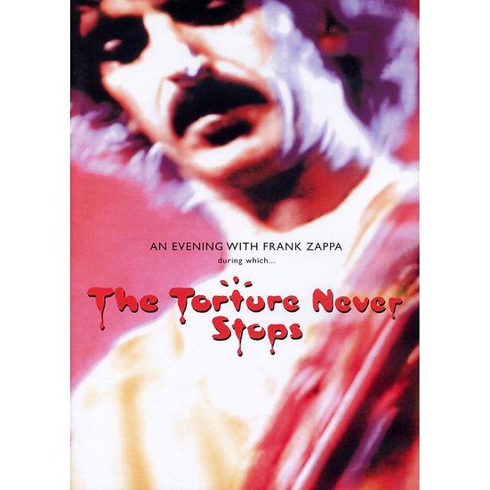 法蘭克扎帕:永無止盡的折磨 Frank Zappa: The Torture Never Stops (DVD) 【Evosound】