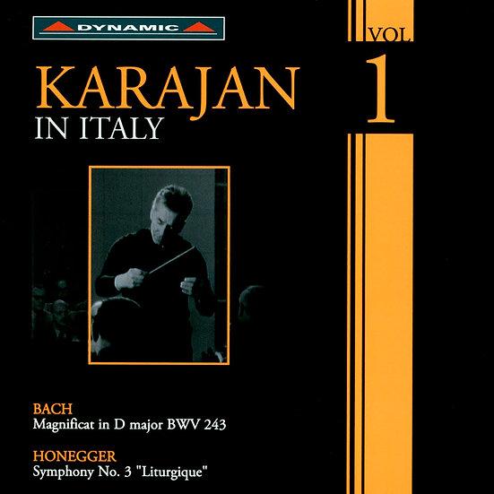 卡拉揚在義大利 第一集 Karajan in Italy Volume 1 (CD)【Dynamic】