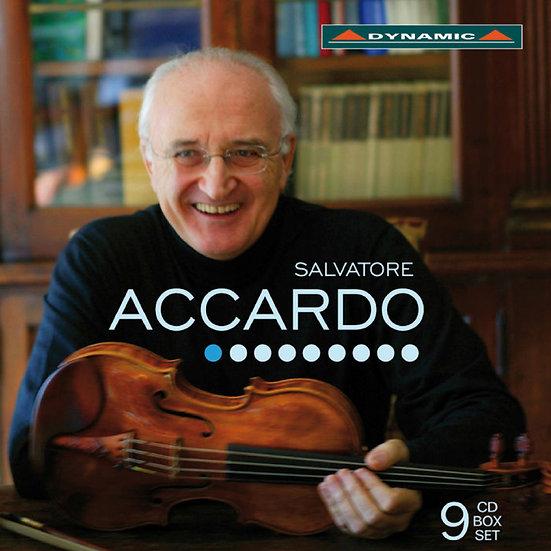 魔鬼帕格尼尼的第一把交椅-阿卡多的絕世琴藝 Salvatore ACCARDO (9CD)【Dynamic】