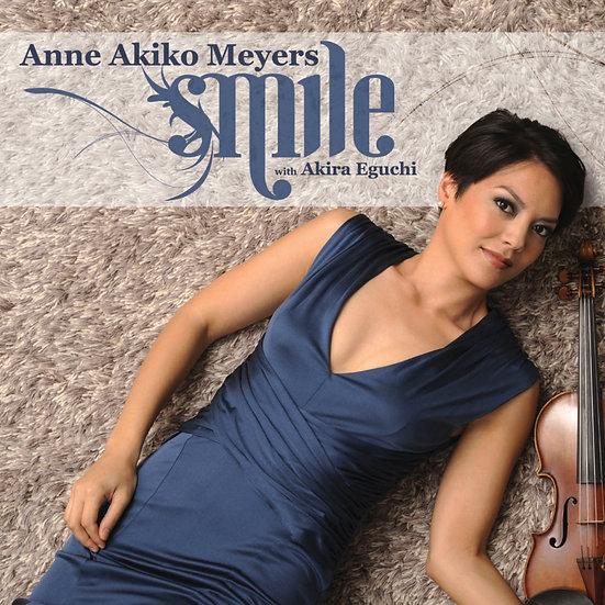 安.梅耶:微笑 Anne Akiko Meyers: Smile (CD) 【Evosound】